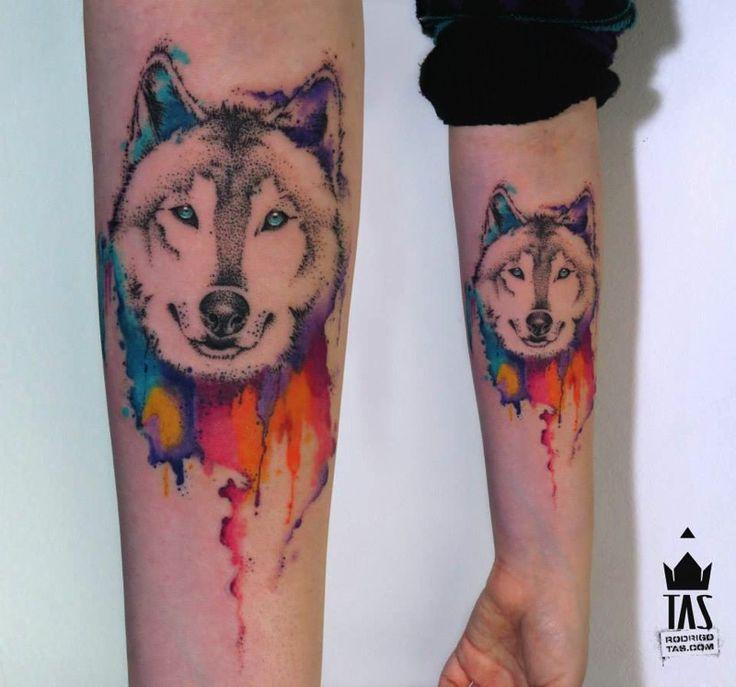 Rodrigo Tas: Wolf head
