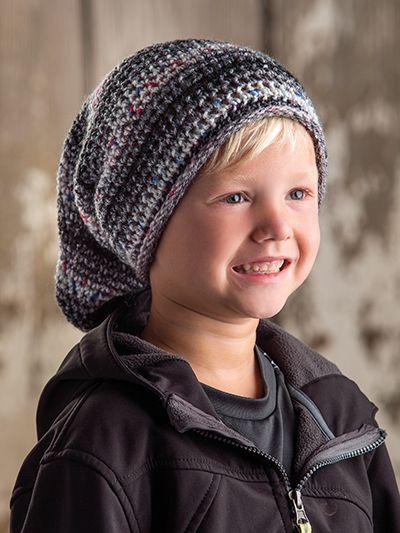 Crochet beanie hat pattern for kids