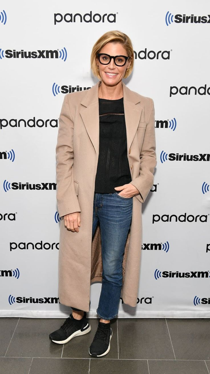 Julie Bowen visits SiriusXM Studios on November 20, 2019