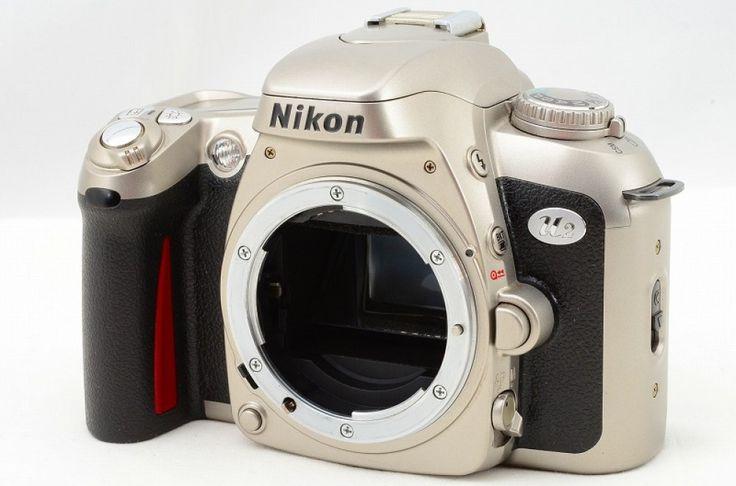 Nikon F75 silver / black version japonaise U2 - Front