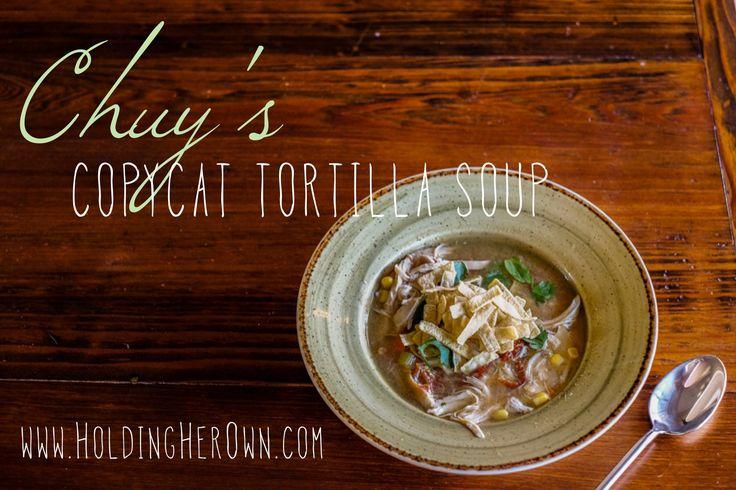 chuys tortilla soup recipe