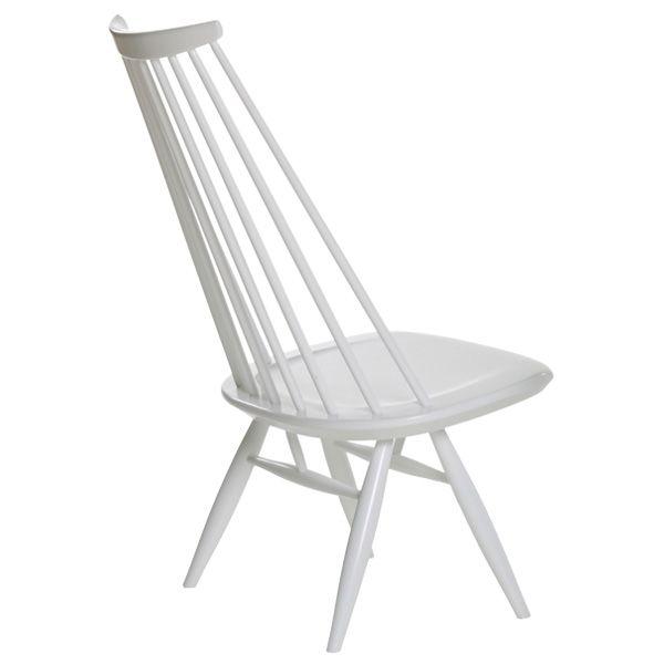 Mademoiselle tuoli, valkoinen