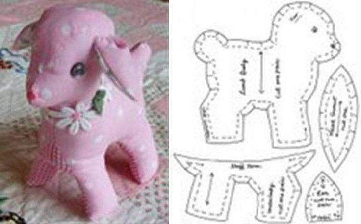 Animales de patchwork patrones animales and patchwork - Patrones de cabezas de animales de tela ...