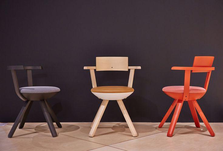 rival multifunctional task chair: konstantin grcic's first design for artek
