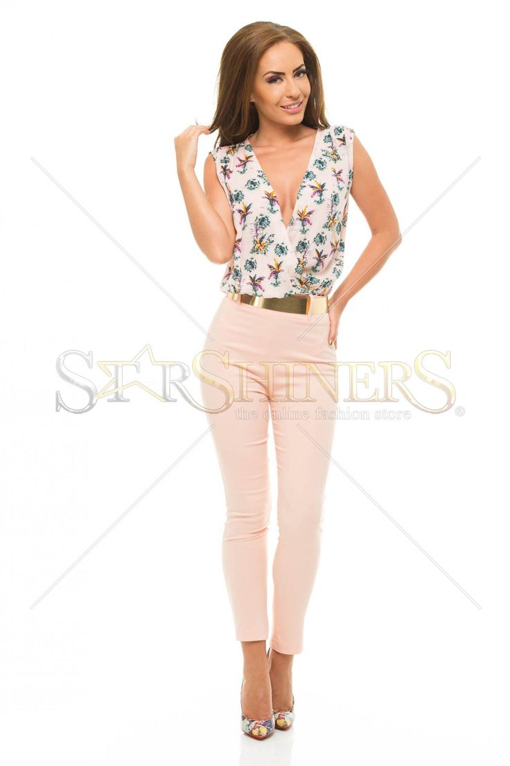 PrettyGirl Stunning Peach Jumpsuit