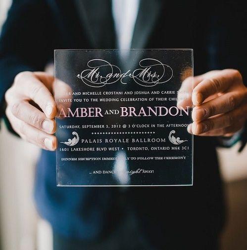 20 Creativas e inusuales invitaciones que querrás el día de tu boda ⋮ Es la moda