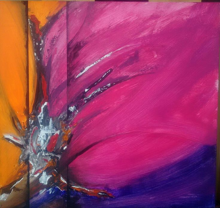 Abstract painting, mixed technique, acrilic on plywood. 60 cm x 60 cm By Oscar Cardenas.
