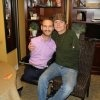 Nick Vujicic and Rick Allen (Def Leppard) during interview