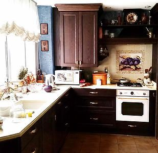 Evgenia Vayner #kitchen #country #house #rustic  Евгения Вайнер #кухня #кантри #дом