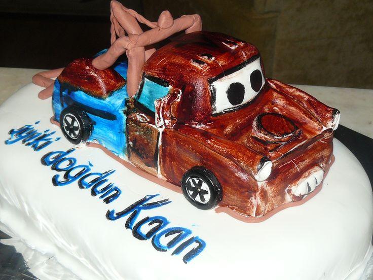 Kaan'ın 4. Doğum Günü Pastası