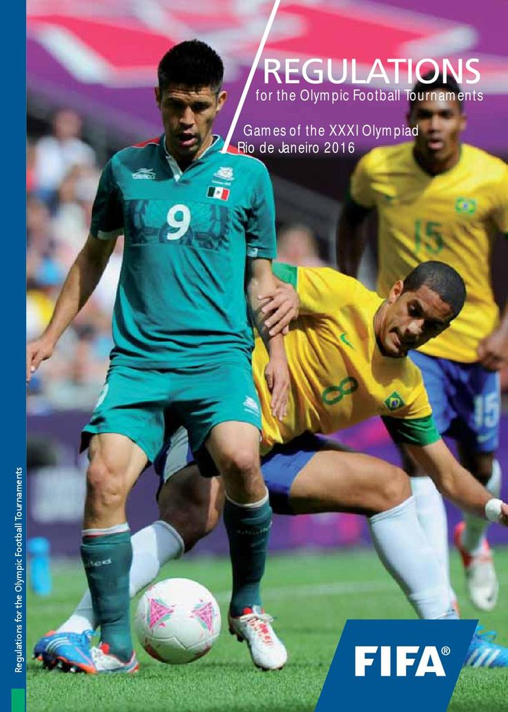 FIFA Regulations for the Olympic Football Tournament Games of the XXXI Olympiad Rio de Janeiro 2016 by CONCACAF - issuu