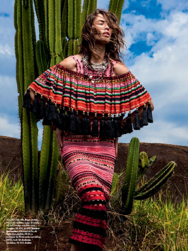 "modelsforvogue: "" Crista Cober for Vogue Brazil August 2014 Photographed by J.R. Duran """