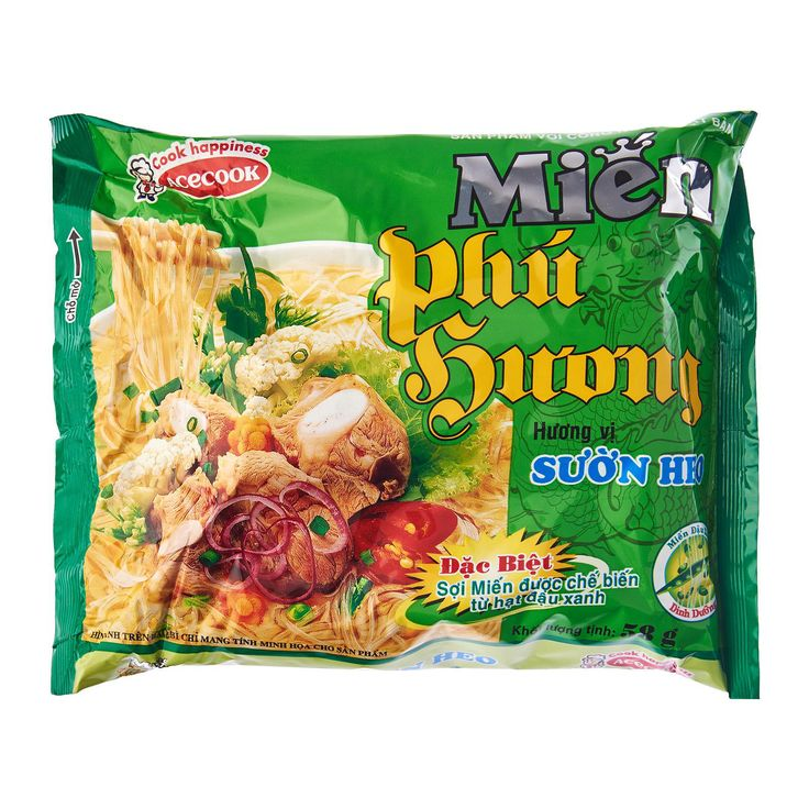 Phu Huong Instant Vermicelli- Skip the take-out and make your own authentic. Phu Huong vermicelli is completely clean, ensurring food hygiene and safety.   Order here http://bit.ly/2zyiDSW