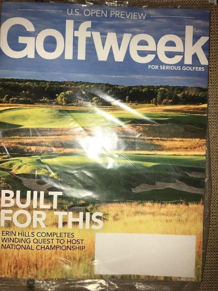 Golfweek Golf Week Magazine June 2017 ERIN HILLS NATIONAL CHAMPIONSHIP US OPEN  | eBay