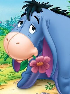 Eeyore.... He is my favorite!!!! :)