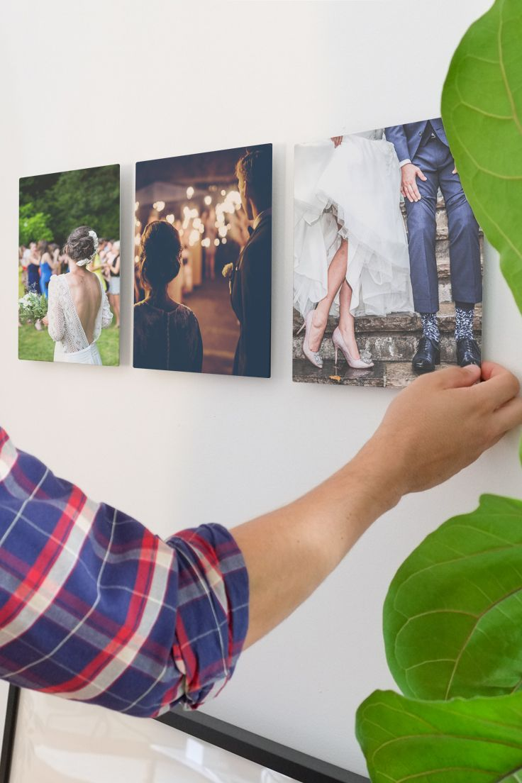 Looking for a great way to display your wedding photo?  Create custom metal prints at http://inkdot.com/metal-prints
