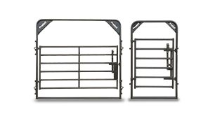 We offer a full line of gates and frames in assorted sizes and widths to complement our heavy duty Rough Stock and Rough Stock Arena Panels.