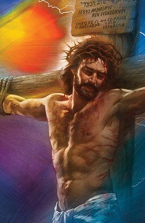 Christ crucified for you.The love that will not let you go.