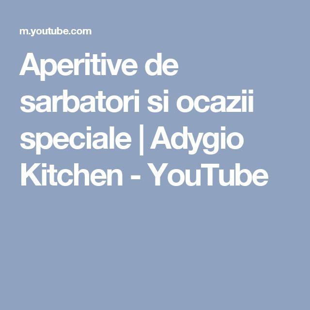 Aperitive de sarbatori si ocazii speciale   Adygio Kitchen - YouTube