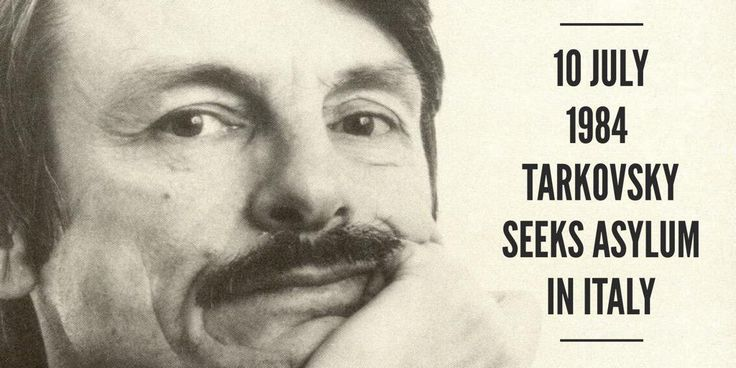 10 July 1984. Andrey Tarkovsky announces his decision to seek asylum in Italy