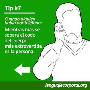 Galería de Tips (1 al 10) | Página 3 de 4 | Lenguaje Corporal