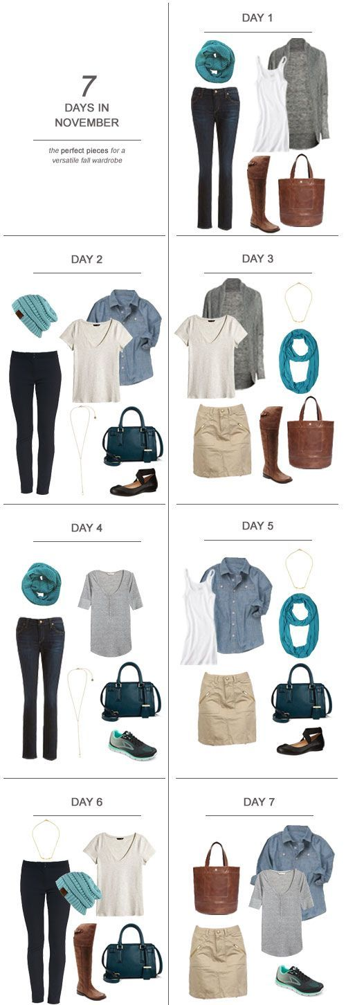 7 Days in November : The Perfect Pieces for a Versatile Fall Wardrobe