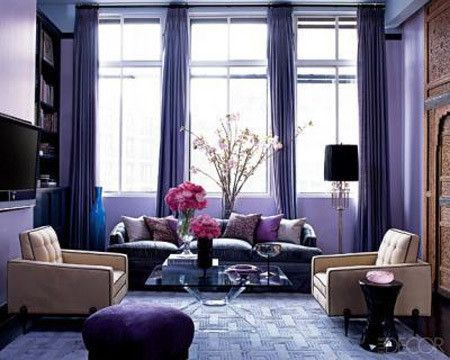 Purple Living Room charming decoration purple living room decor cozy design 15 catchy 10 Amazing Purple Rooms