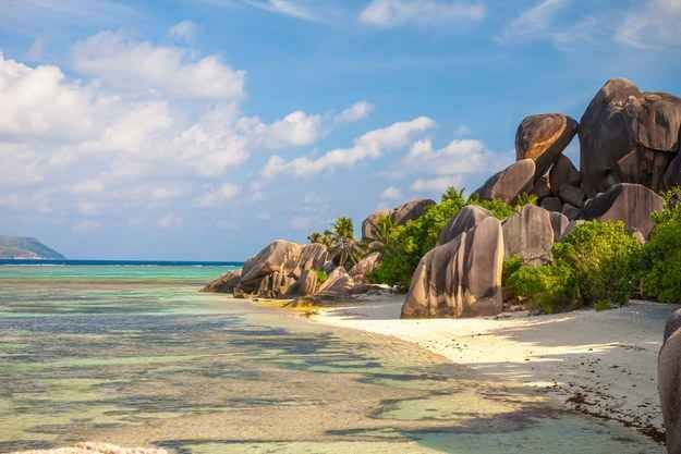 Seychelles Islands in the Indian Ocean