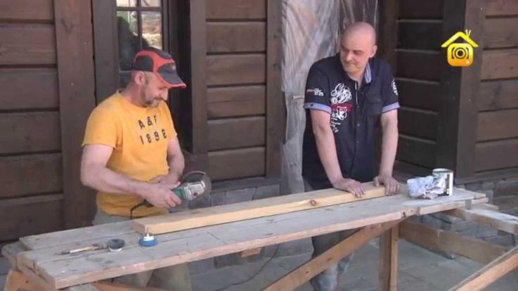 Состаривание древесины. Мастер-класс (ForumHouseTV)