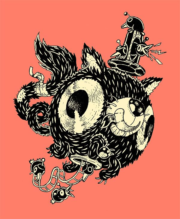 TINTAS - INKS by Gastón Pacheco
