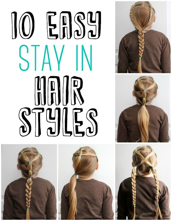 Easy Hairstyles For School 45 quick and easy back to school hairstyles for 2016 5 Minute School Day Hair Styles