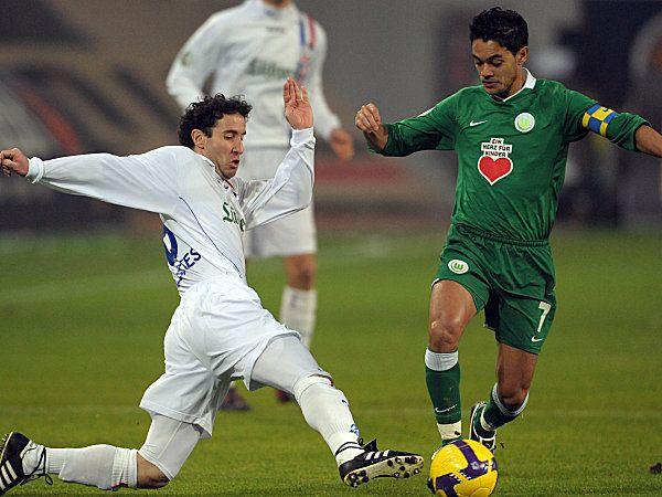 """Am Ende deutlich ... Mit 5:1 siegten die """"Wölfe"""" im Achtelfinale des DFB-Pokals gegen den FC Hansa Rostock. (28.01.2009)"""