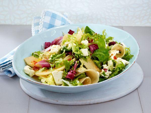 Schnelle Salate - in 20 Minuten fertig! - melonen-schafskaese-salat  Rezept