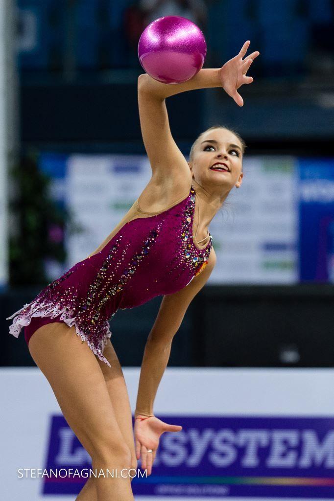 Dina AVERINA (Russia) ~ Ball @ Grand Prix Thiais 2017   Stefanofagnani.com