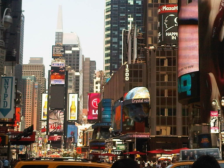 Castings around Time Square