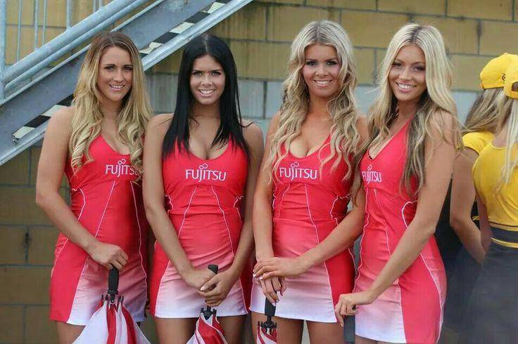 Fujitsu grid girls, Monaco