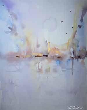 Sabine VUK - Artiste peintre contemporain abstrait et aquarelliste