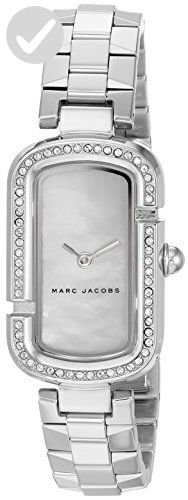 Marc Jacobs Women's Quartz Stainless Steel Casual Watch, Silver-Tone (Model: MJ3535) - All about women (*Amazon Partner-Link)
