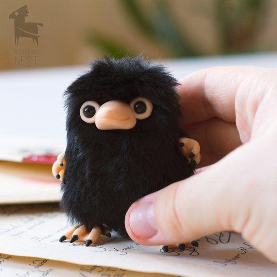 Baby Niffler Fantastic Beast Newt Scamander Handmade Toy Keychain In 2020 Fantastic Beasts Handmade Toys Harry Potter Crafts