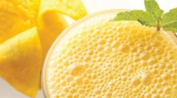 Mmmm..Malteada de mango y coco