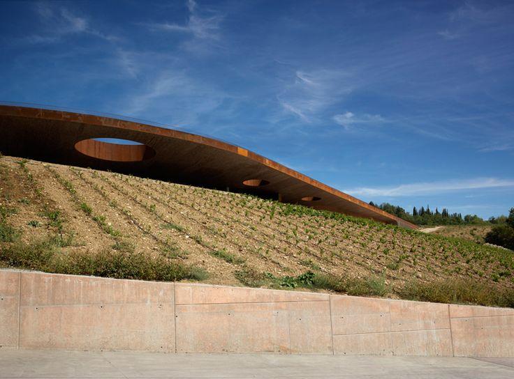 archea associati: cantina antinori winery