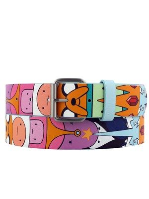 Adventure Time Belt - New Rock, Punk and Gothic Clothing: Alternative Fashion at Grindstore - UK Clothing Store