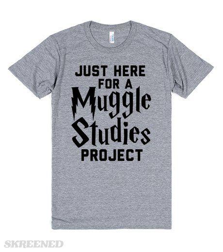 Muggle Studies Project | T-Shirt | SKREENED