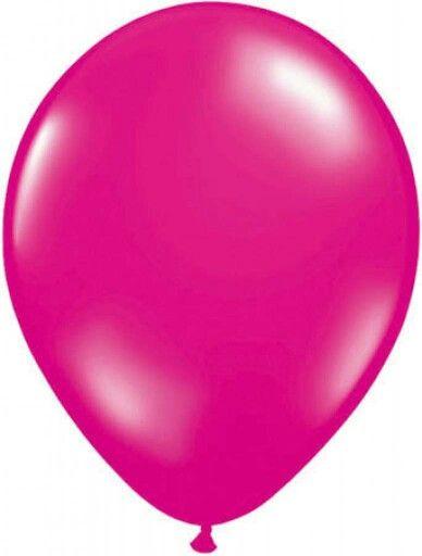 De ballon die uit de mond komt.