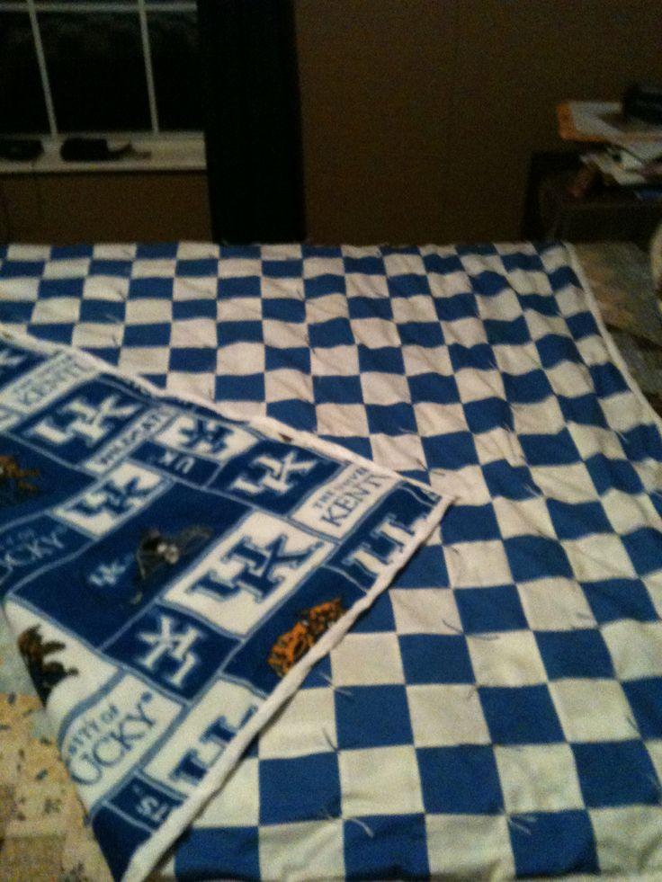 Kentucky Wildcat Quilt Quilts Pinterest Kentucky