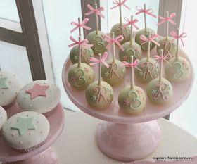 Cupcake: Póneis e anjinhos!