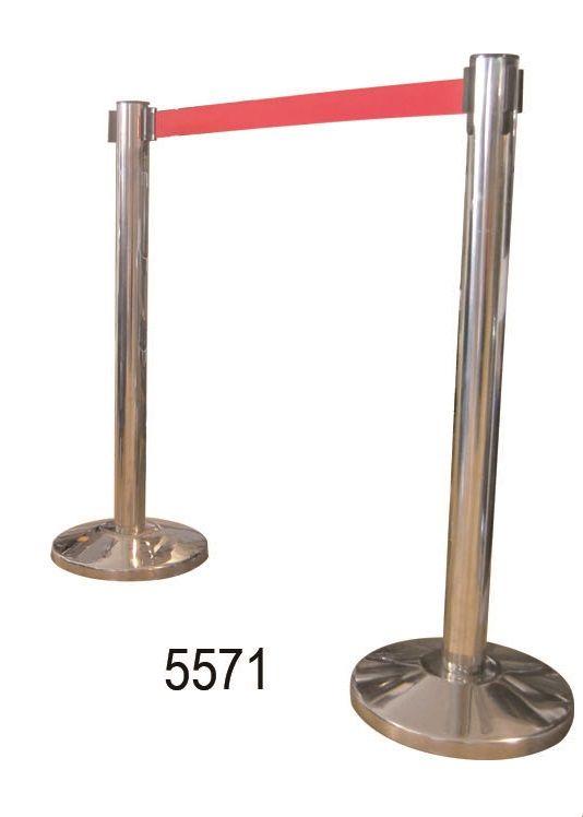Dispositivos salida y entrada : 5571 POSTE DELIMITACION EXTENSIBLE