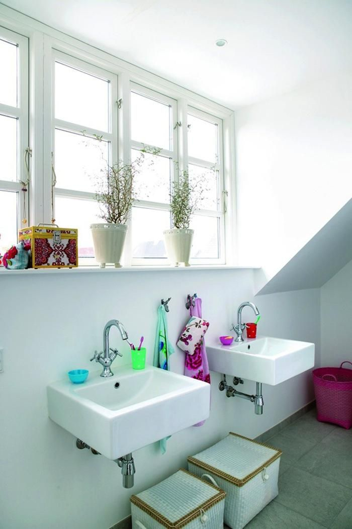 Danish Children's Bathroom from Bolig Magazine, Remodelista