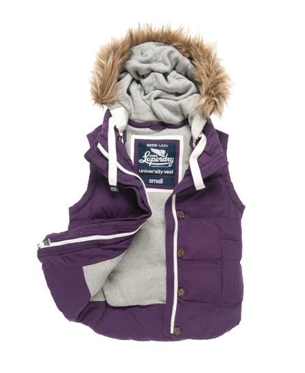 Superdry Hooded University Vest