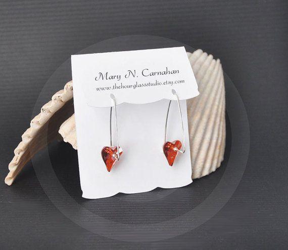Diy Bracelet Display Card: Custom Earring Card Display 035, Blank Jewelry Display